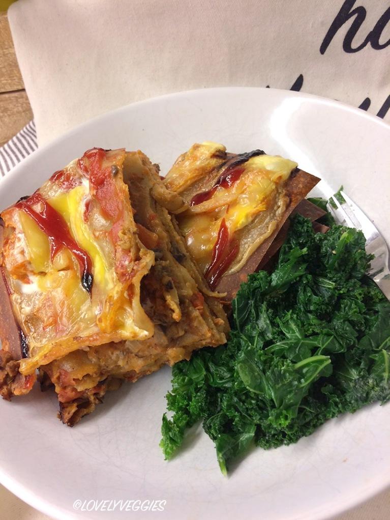 lasagne, kasvislasagne, vegaani